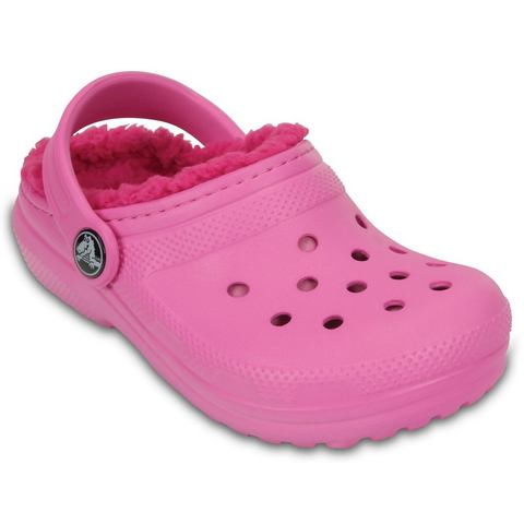 Crocs Klompen Unisex Party Pink-Candy Pink Classic Lined
