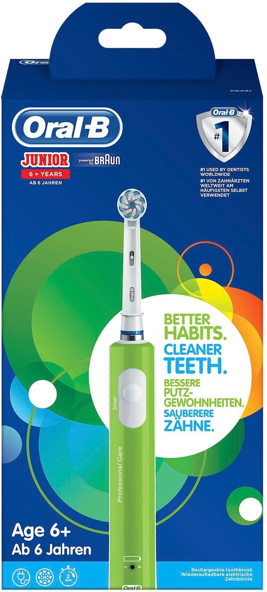 Op zoek naar een Oral-B Oral B elektrische tandenborstel Junior, 1 opzetborsteltje? Koop online bij OTTO