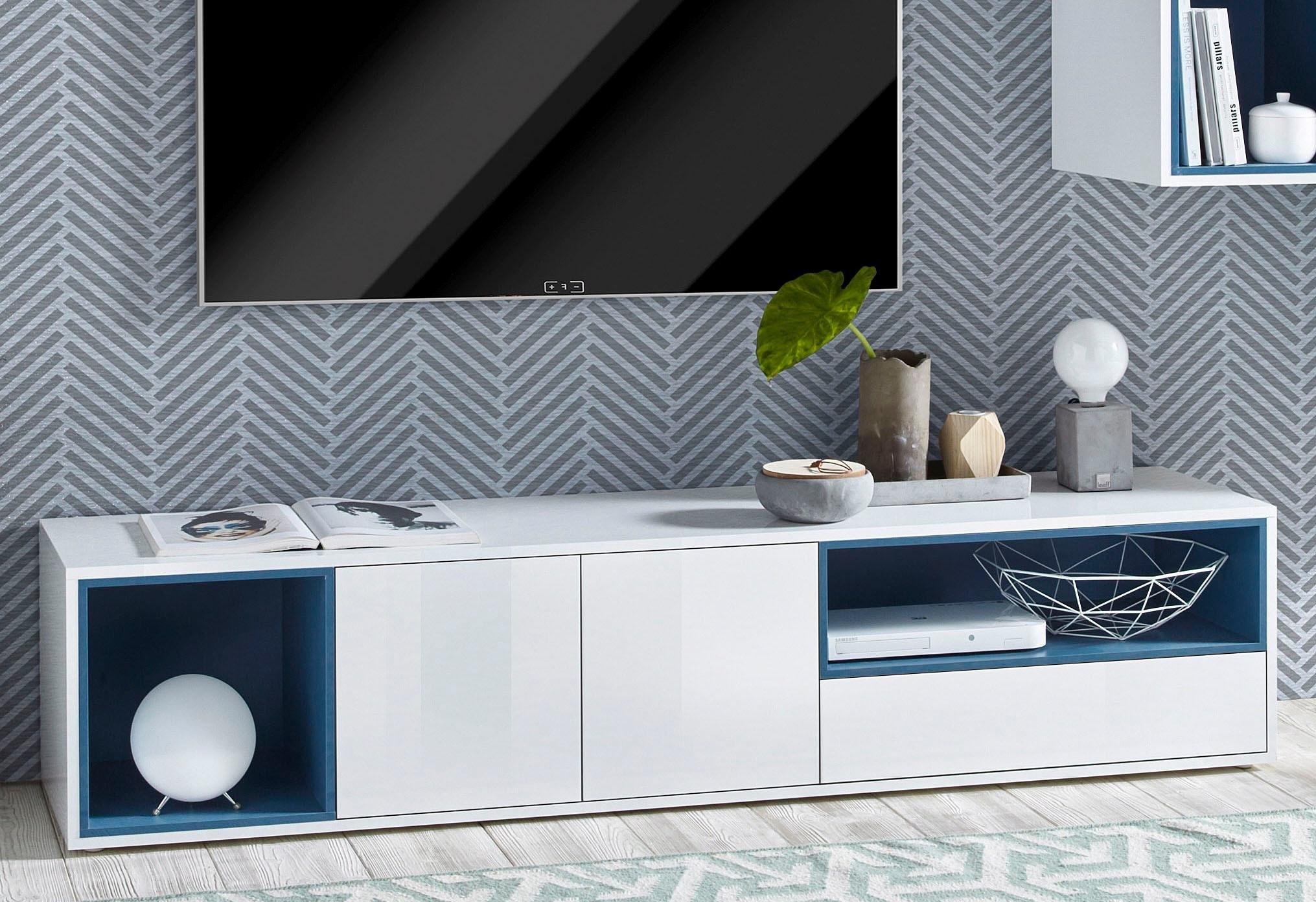 Tecnos tv-meubel »Colore«, breedte 185 cm - gratis ruilen op otto.nl
