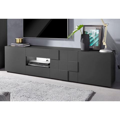 Tv-meubel, breedte 203 cm
