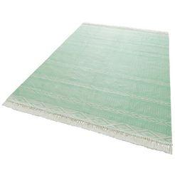 outdoorkleed, »hatice«, rechthoekig, hoogte 3 mm, met print groen