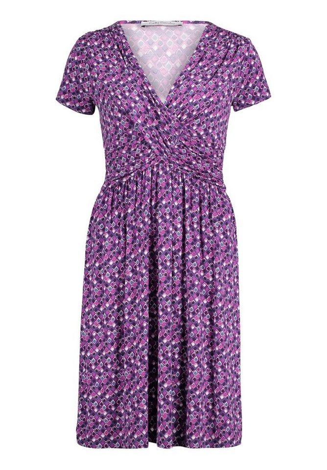 Betty Barclay jersey jurk paars