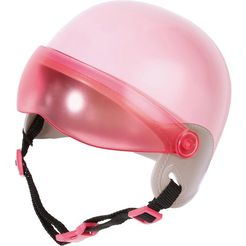 zapf creation poppenaccessoires, »baby born city scooter helm« roze