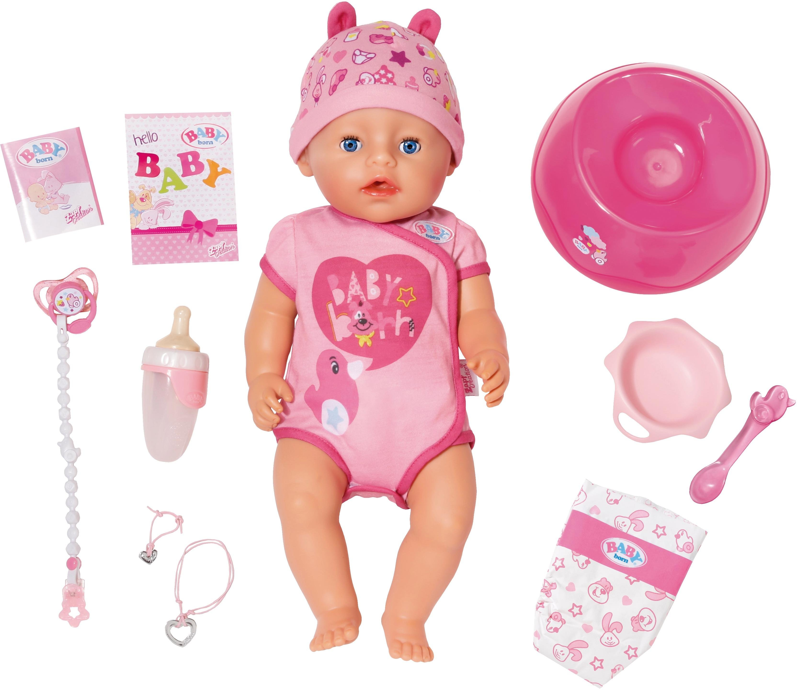 Baby Born Zapf Creation® babypop 'BABY born® Soft Touch Girl' - verschillende betaalmethodes