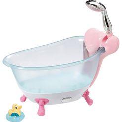 zapf creation poppenaccessoires, »baby born badkuip« blauw