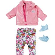 zapf creation poppenkleding, »baby born city deluxe scooter outfit« roze