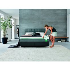 pocketveringsmatras »hybrid luxe«, tempur, 30 cm dik, dichtheid: 43 wit