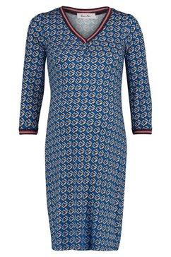 queen mum jurk blauw