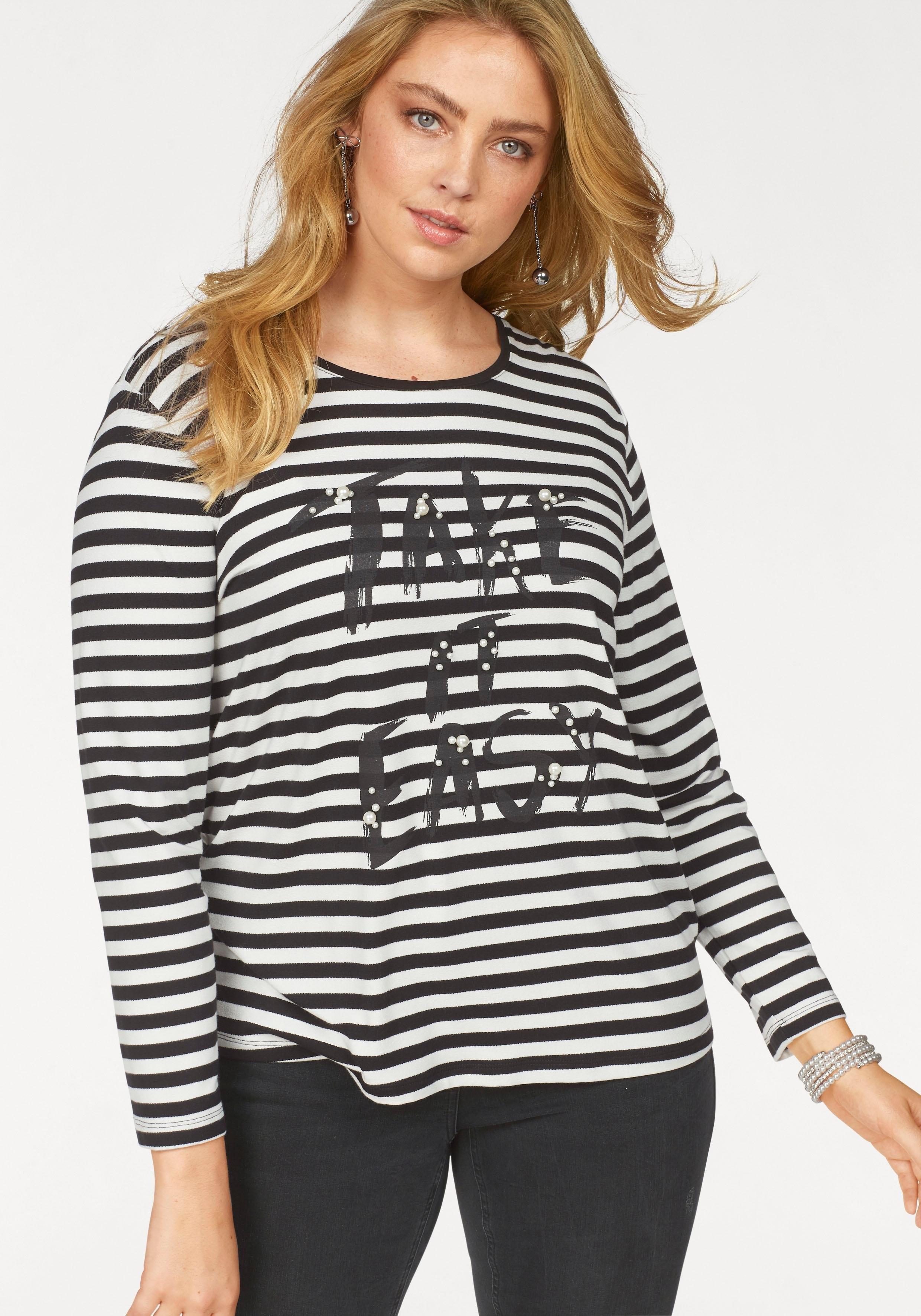 Via Appia Due shirt met lange mouwen in de webshop van OTTO kopen