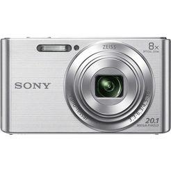 sony compact-camera dsc-w830 zilver