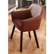 fauteuil »mark« bruin