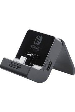 nintendo switch console oplaadstandaard zwart