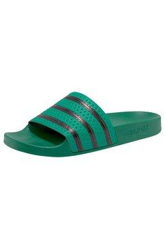 adidas originals badslippers »adilette« groen