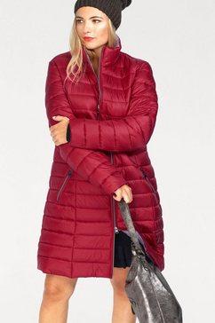 danwear gewatteerde jas rood