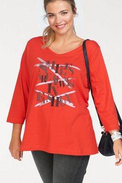 zhenzi print-shirt rood