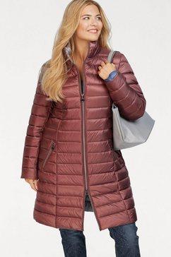 danwear gewatteerde jas roze