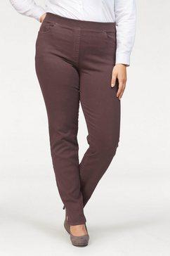 raphaela by brax comfort fit jeans »carina« rood