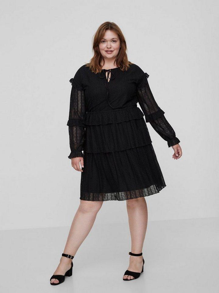 Junarose Met lange mouwen jurk zwart