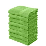 handdoek, my home, »juna«, 8-delige set groen