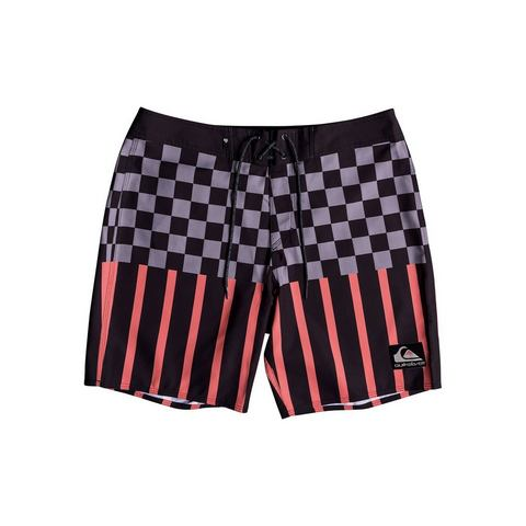 Quiksilver Boardshorts Check Magnet 18