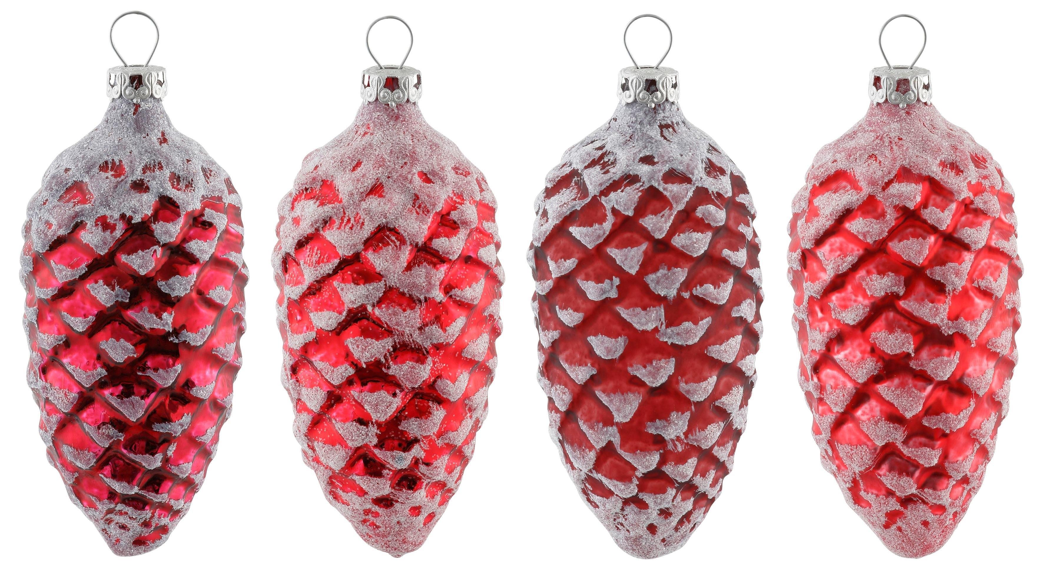 Thüringer Glasdesign kerstboomversiering 'Advent' (4-delig) online kopen op otto.nl