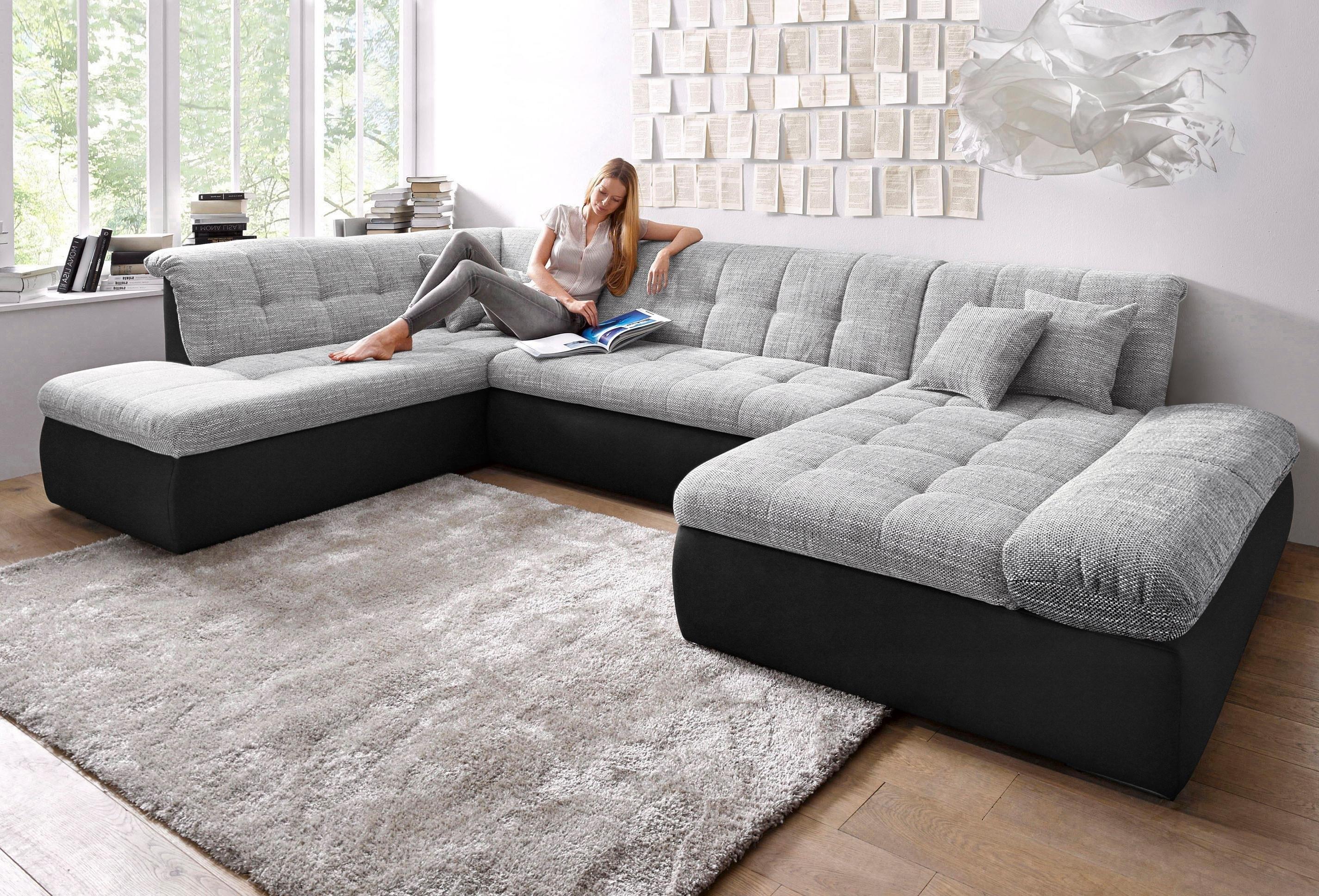 DOMO collection Zithoek XXL, naar keuze met slaapfunctie en verstelbare armleuning online kopen op otto.nl