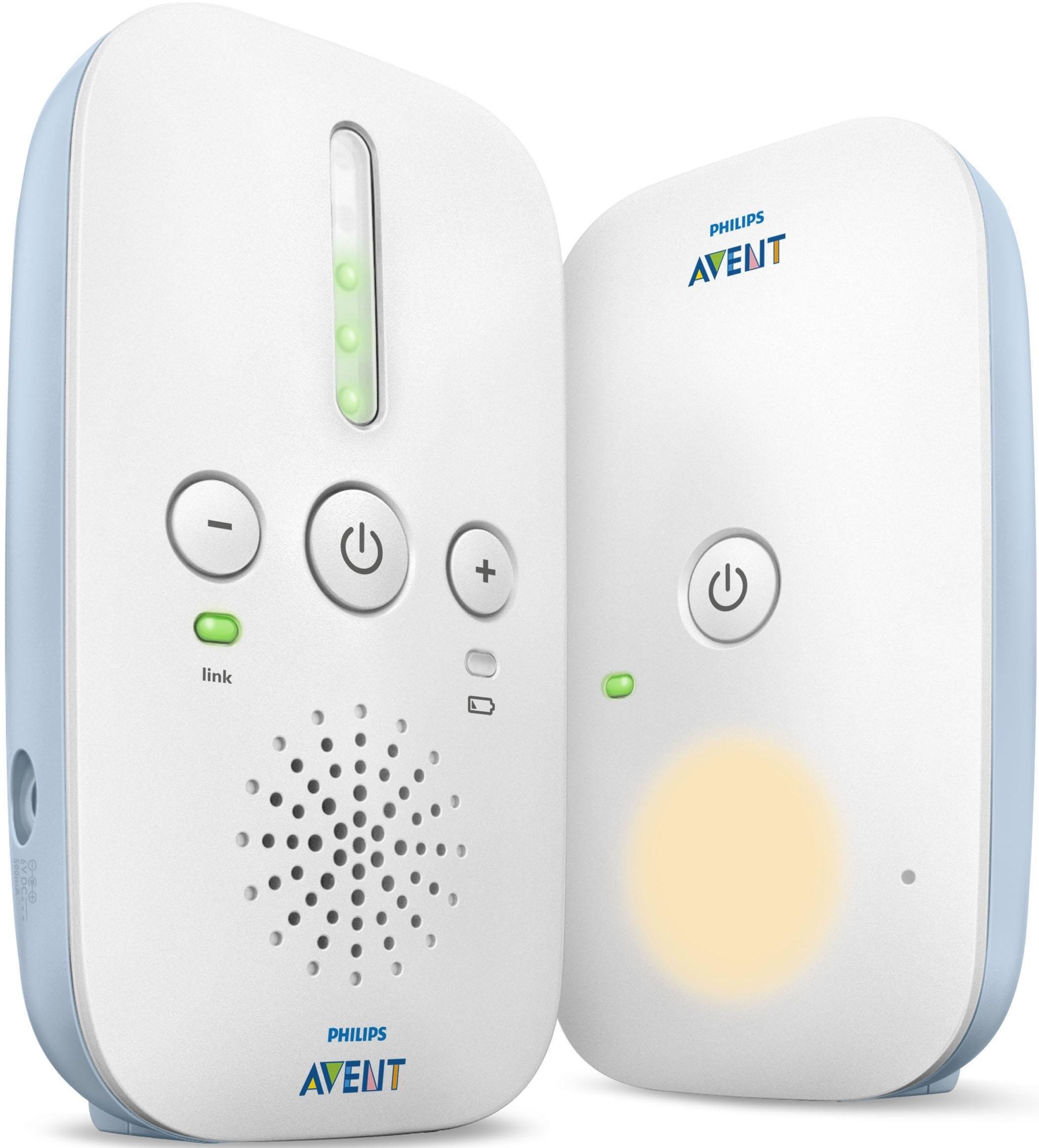 Philips AVENT DECT babyfoons SCD503/26, met nachtlampje en Smart ECO-modus, wit/lichtblauw bestellen: 30 dagen bedenktijd