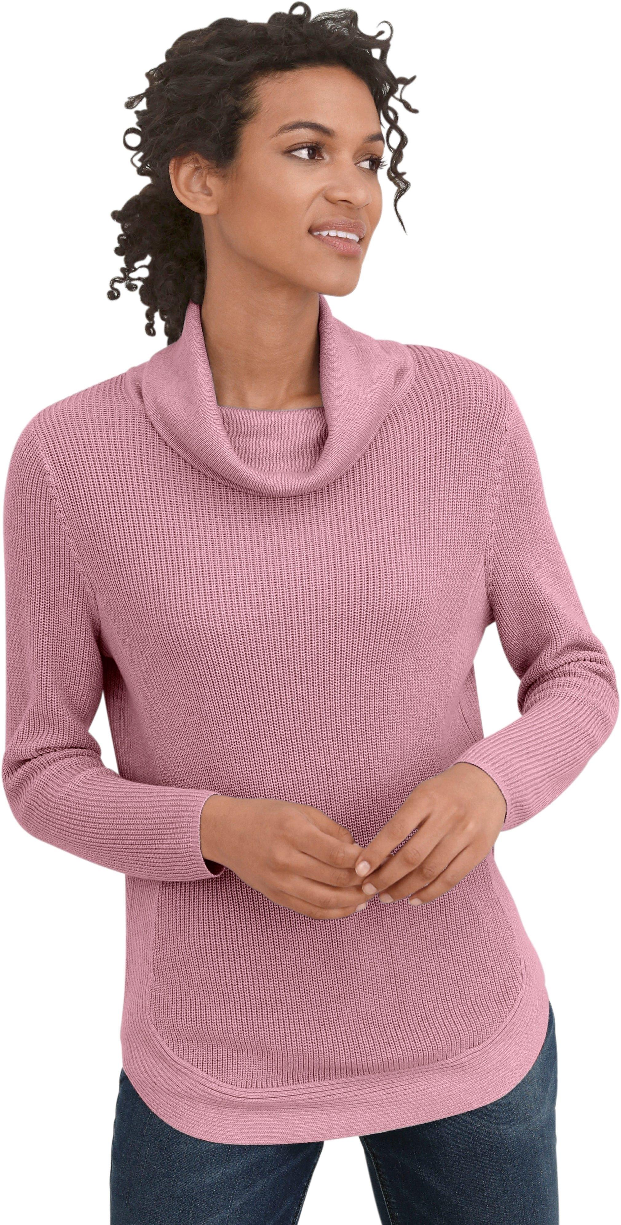 Casual Looks trui met mooi breimotief voordelig en veilig online kopen