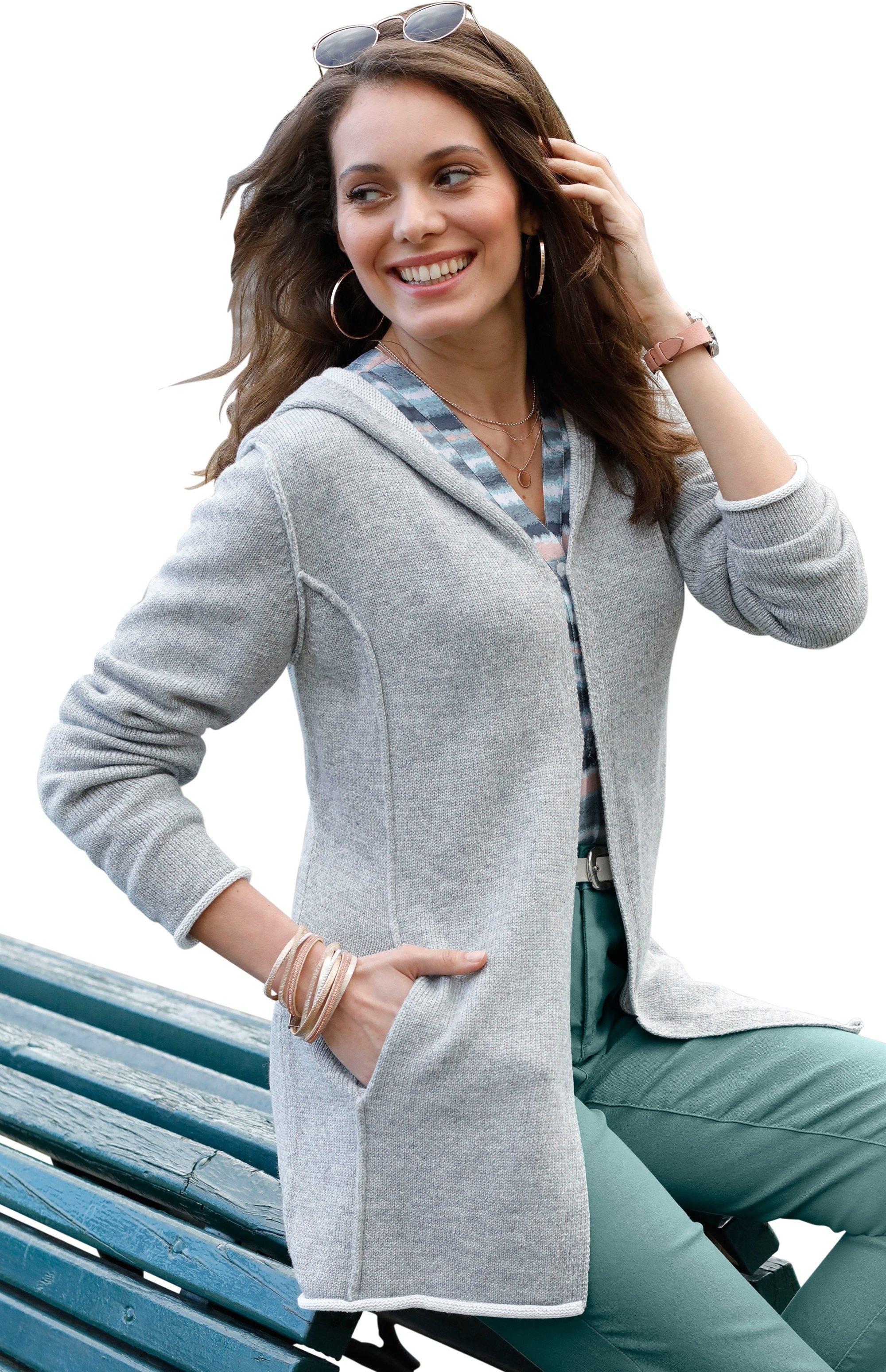 Ambria vest met capuchon - verschillende betaalmethodes
