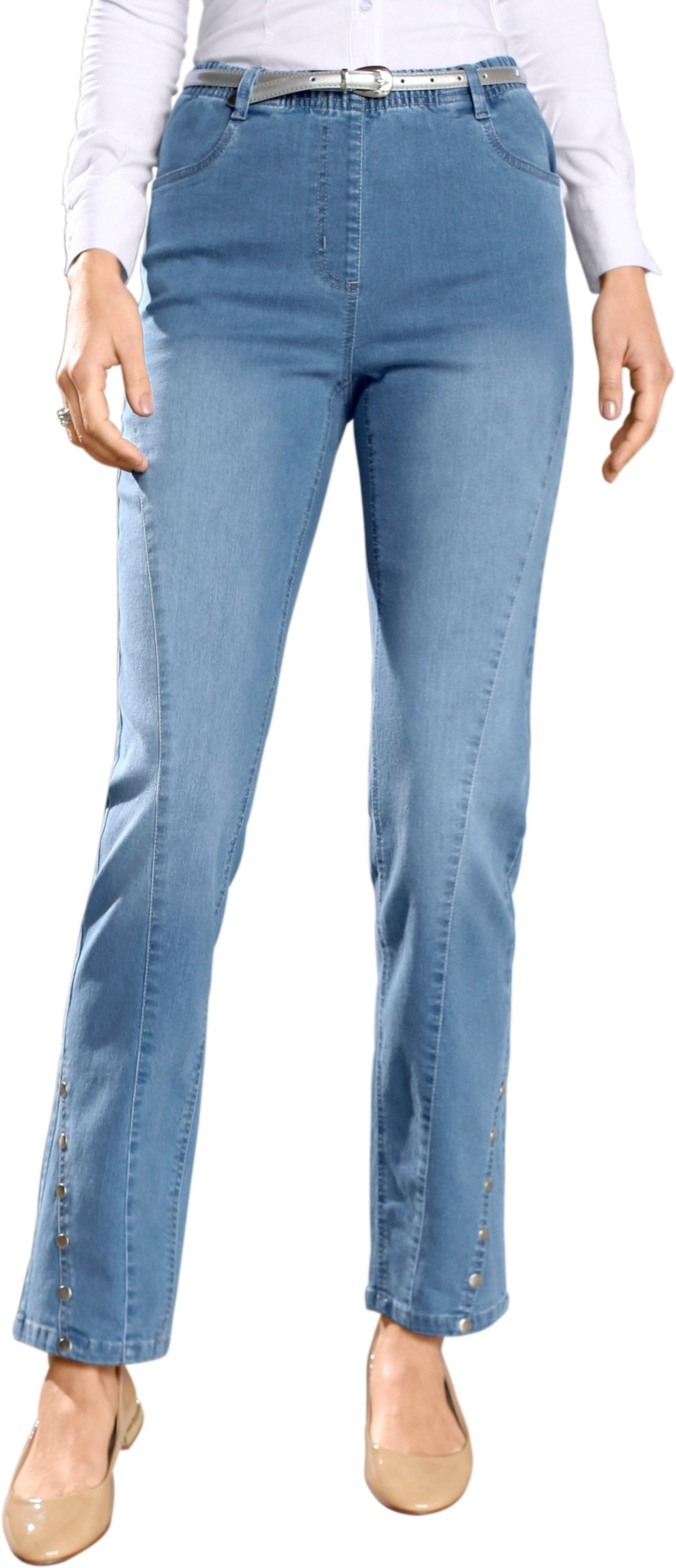 Classic Basics jeans met modellerend heupstuk achter in de webshop van OTTO kopen