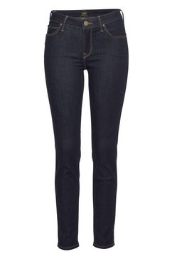 lee slim fit jeans »scarlett« blauw