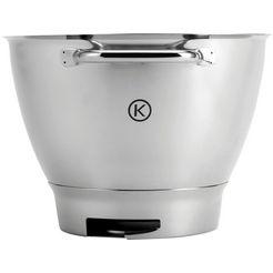 kenwood edelstalen kom chef titanium kat711ss voor kenwood-keukenmachines zilver