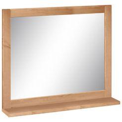 welltime spiegel »westa« met planchet beige