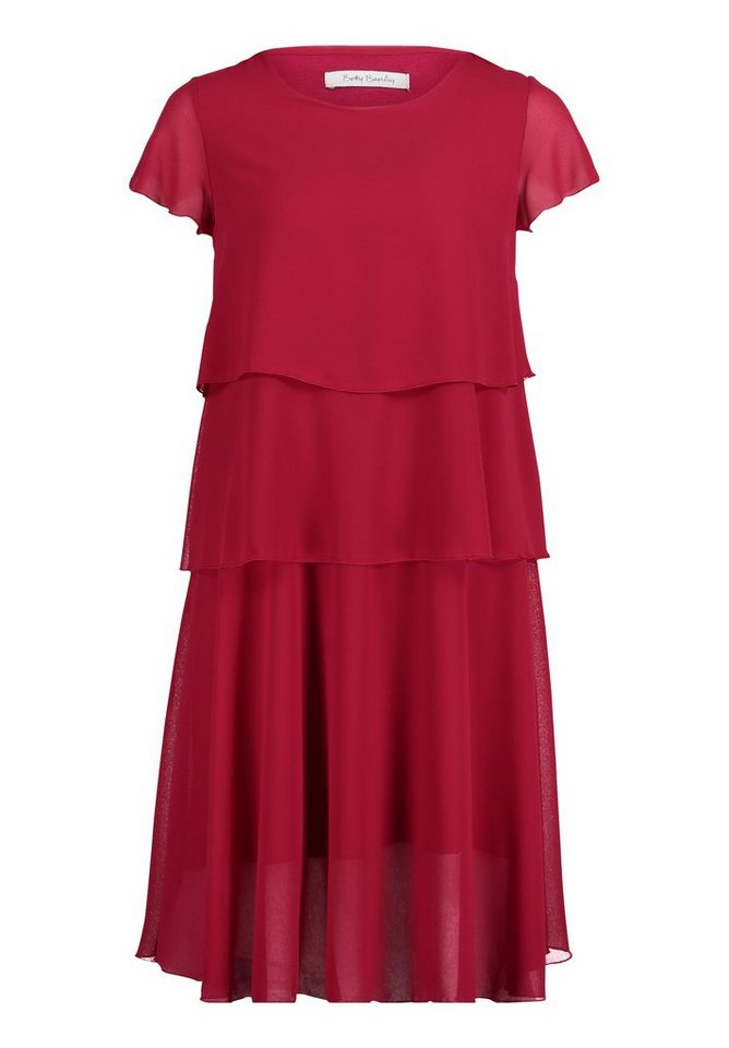 Betty Barclay Gelaagde jurk roze