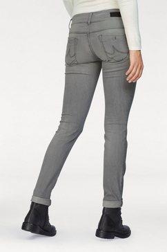 ltb slim-fit-jeans »molly« grijs