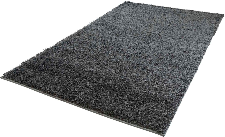 Carpet City Hoogpolig vloerkleed, »Shaggi uni 500«, rechthoekig, hoogte 30 mm, machinaal geweven bij OTTO online kopen