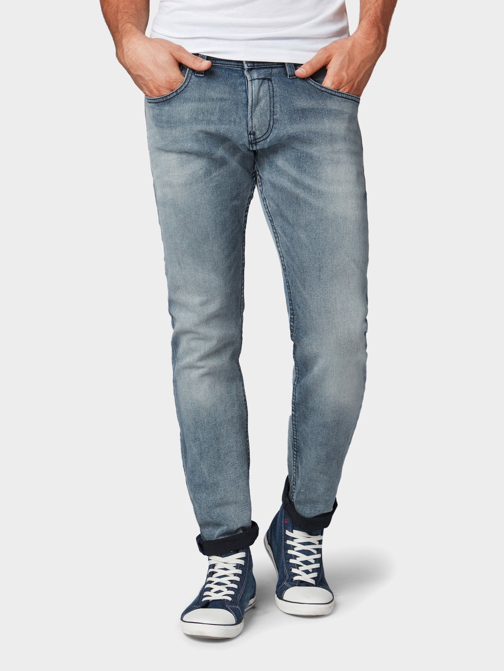 Afbeeldingsbron  Tom Tailor Denim five-pocket jeans »Piers Super Slim jeans« 6b1f8ba725