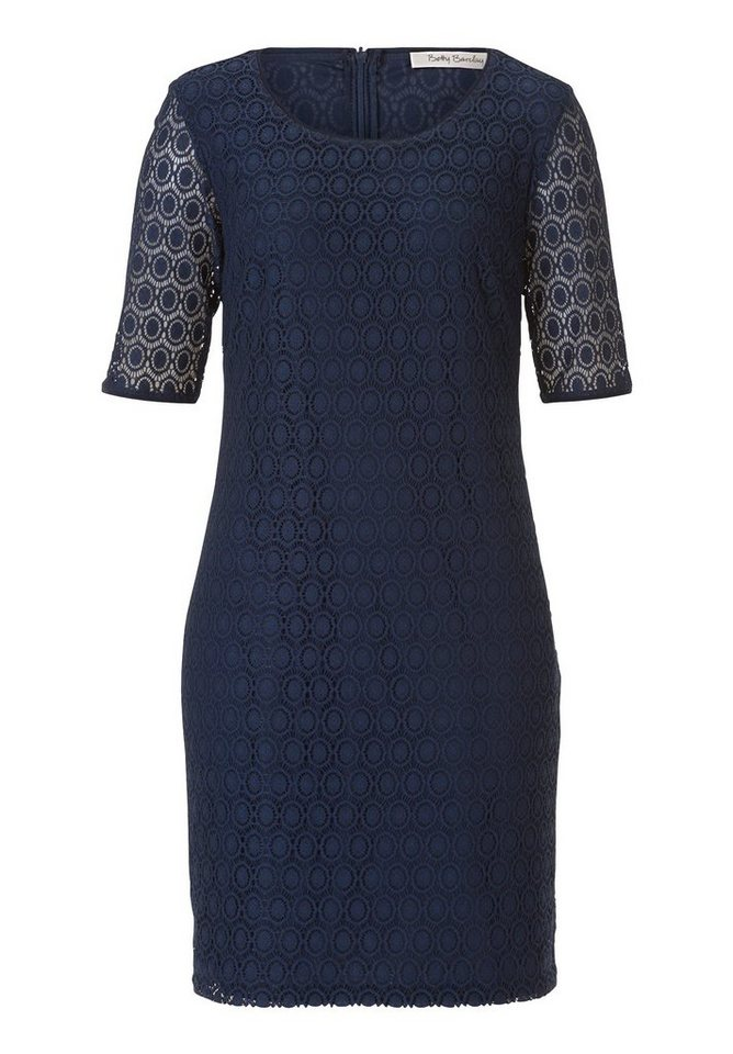 Betty Barclay kanten jurk blauw