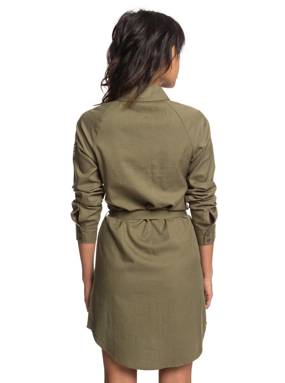 blouse jurk met lange mouwen