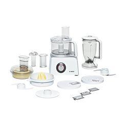 bosch keukenmachine compact mcm4200, 800 watt wit