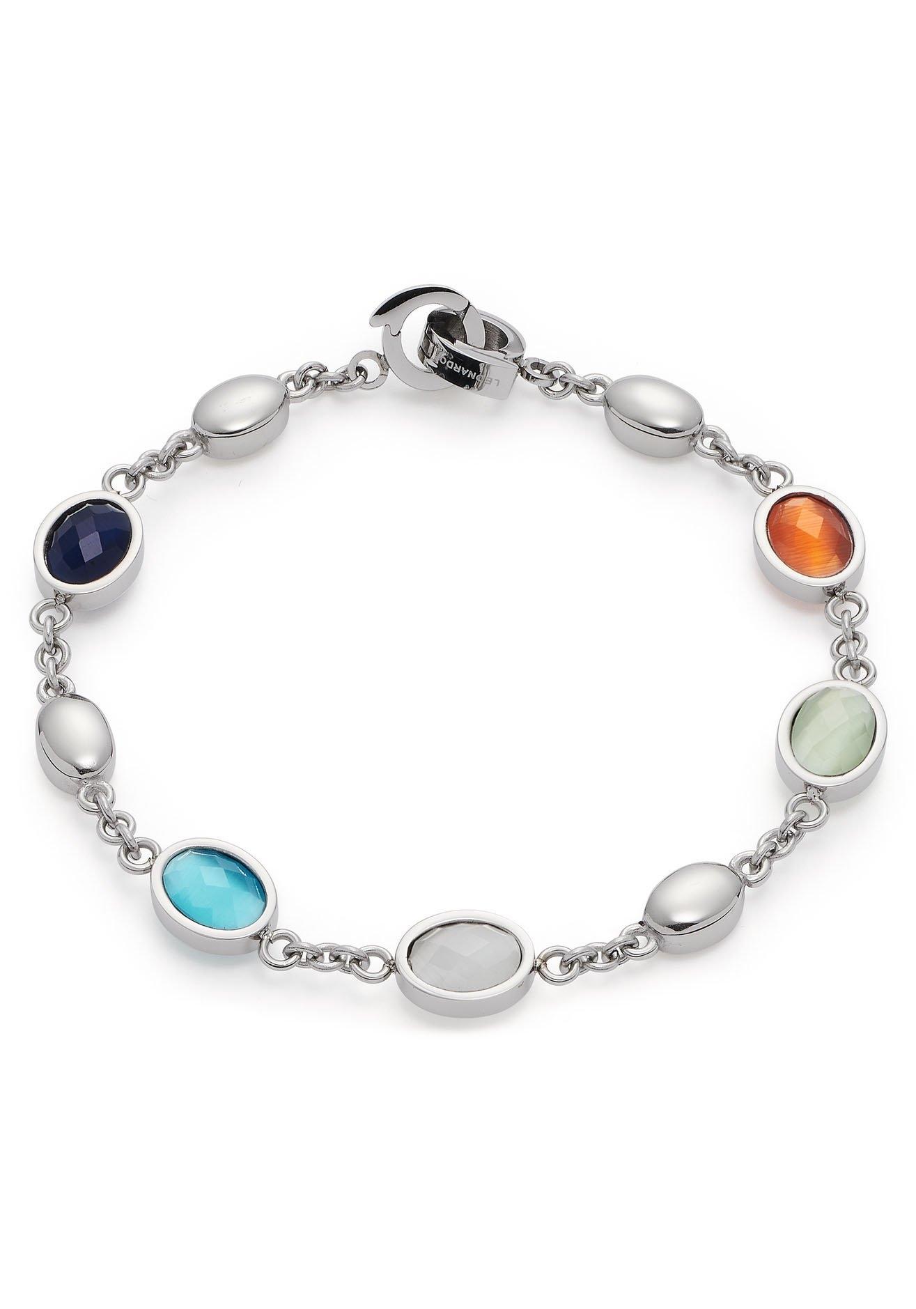 LEONARDO edelstalen armband Romi Clip&Mix, 021369 met cat-eye bij OTTO online kopen