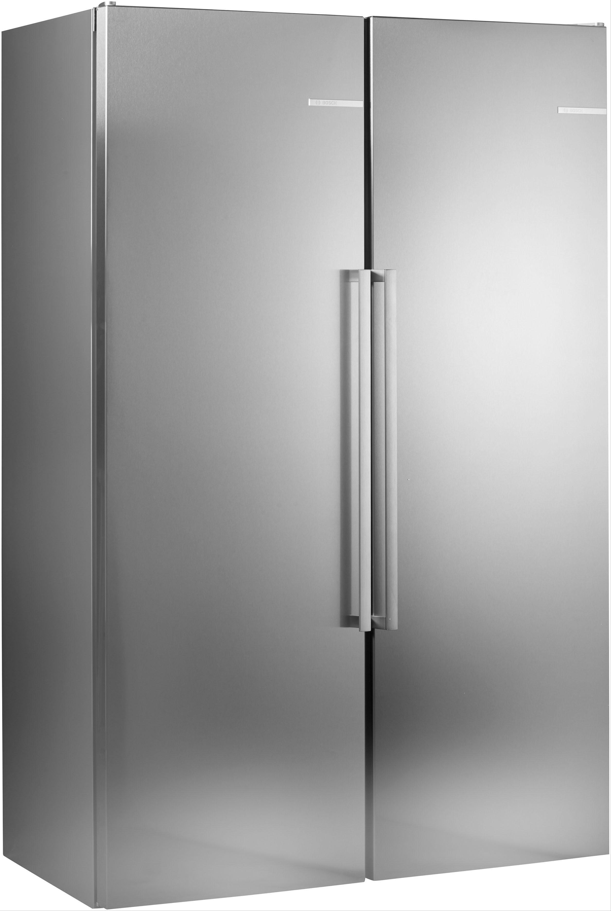 BOSCH side-by-side-koelkast serie 6, 186 cm hoog, 120 cm breed - verschillende betaalmethodes