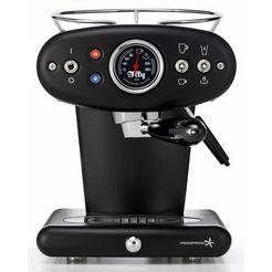 illy koffiecapsulemachine x1 anniversary ec, zwart zwart
