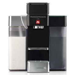 illy »francisfrancis! y5 milk iperespresso ec« koffiecapsulemachine zwart