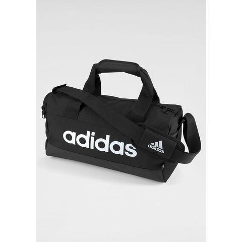 adidas Essentials logo sporttas extra small zwart Kinderen