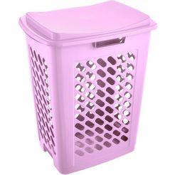 keeeper wasmand, inhoud 60 l, 49 x 37 x 60 cm, »piet« roze