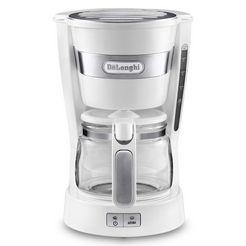 de'longhi filter-koffiezetapparaat active line icm14011.w, 0,65 l koffiepot wit