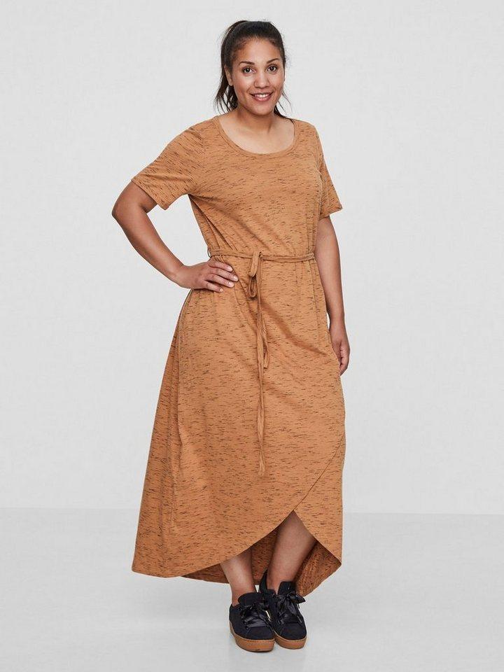 Junarose Maxi jurk bruin
