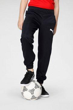 puma trainingsbroek »active tricot pants cl b« zwart
