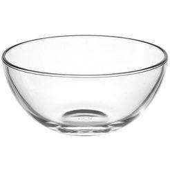 leonardo schaal, glas, 14 cm, set van 6, »cucina« wit